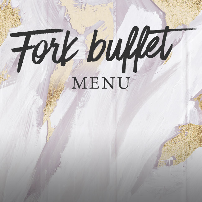 Fork buffet menu at The Botanist Bristol