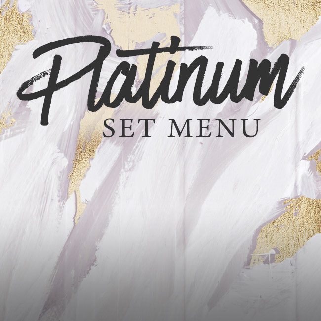 Platinum set menu at The Botanist Bristol