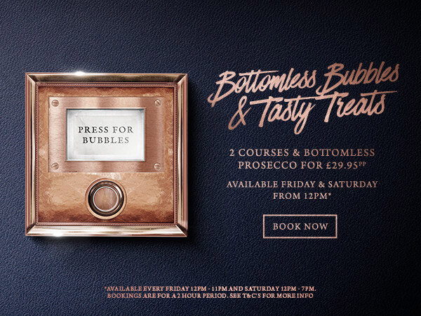Bottomless Bubbles The Botanist Bristol - Book now